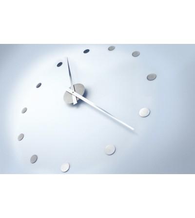 zegar ścienny RADIUS stal szlachetna