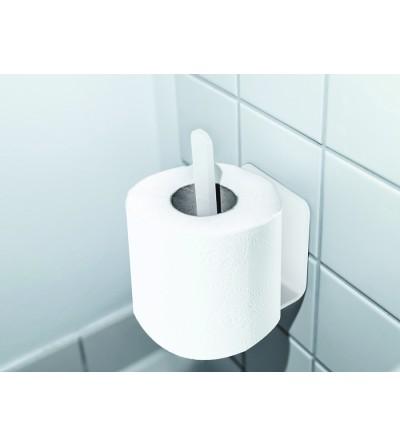 wieszak na zapasowy papier toaletowy PURO biały