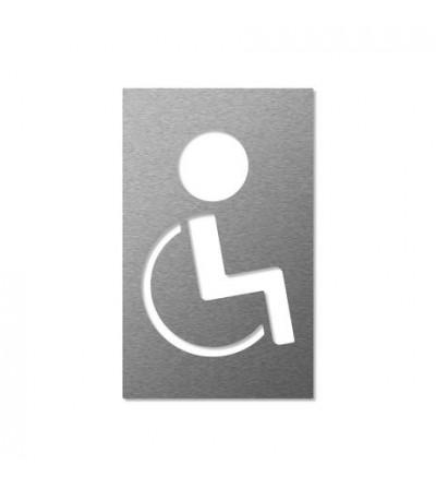 """piktogram """"dla niepełnosprawnych"""" negatyw"""