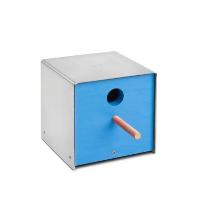 budka dla ptaków TWITTER niebieski