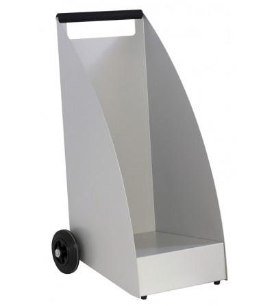Wózek na drewno WOOD szary RAL 9006