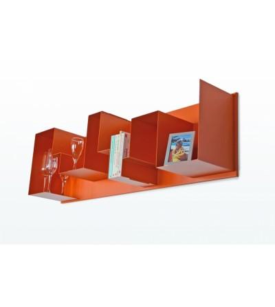 półka RADIUS ONE pomarańczowa
