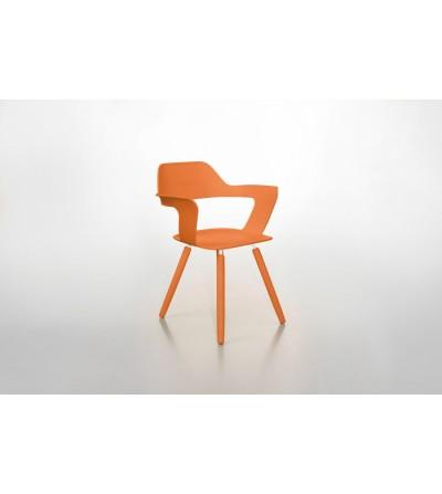 krzesło MUSE pomarańczowe