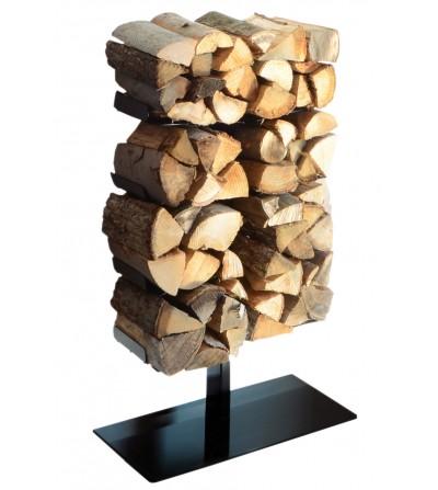 WOODEN TREE stojące półki na drewno kominkowe