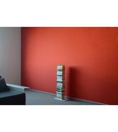 BOOKSBAUM stojące pojedyncze półki na książki białe 90 cm