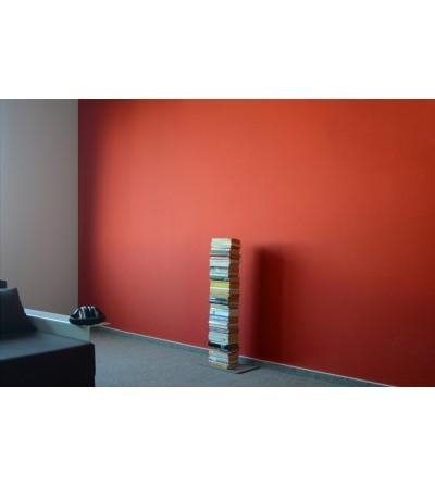 BOOKSBAUM stojące pojedyncze półki na książki szare 90 cm