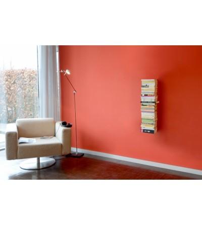 BOOKSBAUM wiszące pojedyncze półki na książki białe 90 cm