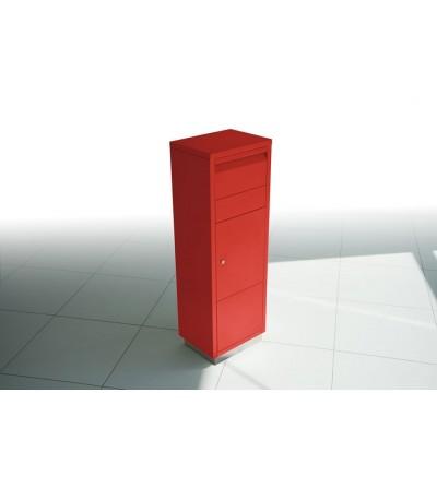 skrzynka na przesyłki kurierskie LETTERMAN czerwona