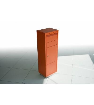 skrzynka na przesyłki kurierskie LETTERMAN pomarańczowa