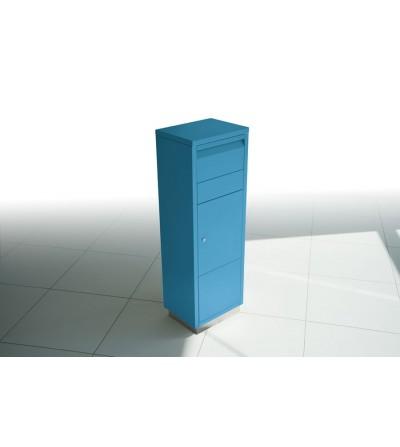 skrzynka na przesyłki kurierskie LETTERMAN niebieska