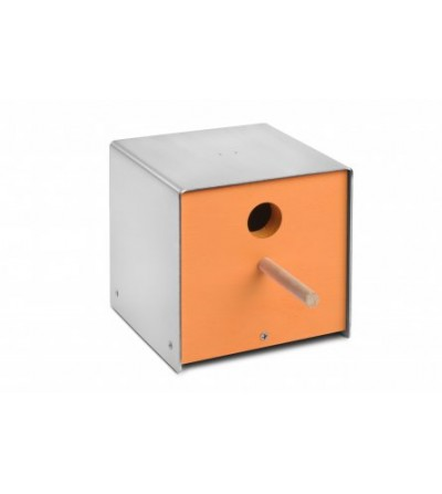 budka dla ptaków TWITTER pomarańczowy