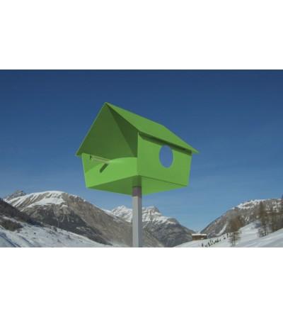 karmnik dla ptaków PIEP SHOW XXL zielony