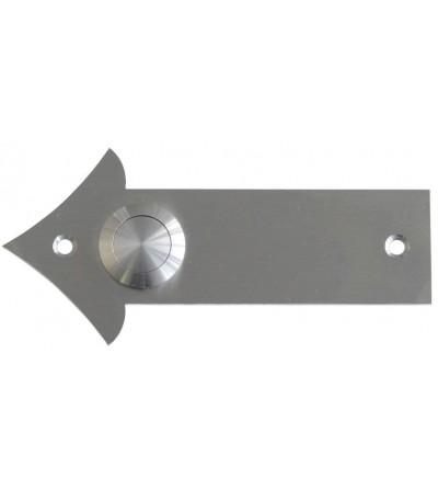 przycisk dzwonka ARROW biały