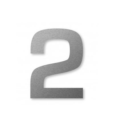 "numer domu BIG NUMBER  ""2"" 8 cm"