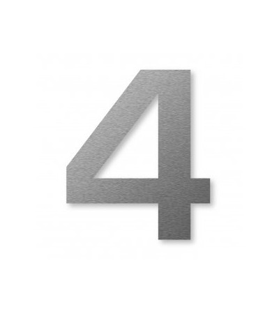 "numer domu BIG NUMBER ""4"" 8 cm"