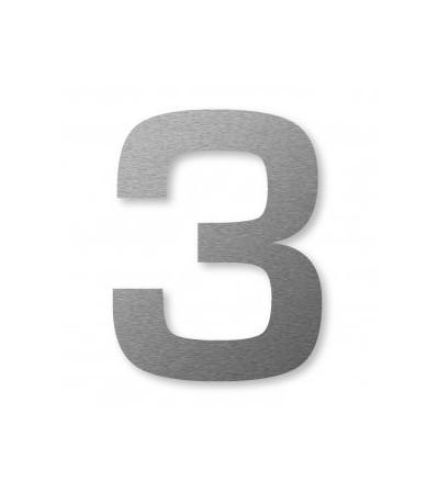 "numer domu BIG NUMBER ""3"" 8 cm"