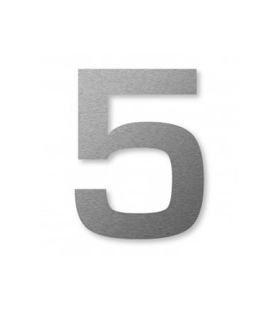 "numer domu BIG NUMBER ""5"" 8 cm"