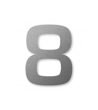 "numer domu BIG NUMBER ""8"" cm"