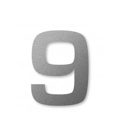 "numer domu BIG NUMBER ""9"" 8 cm"