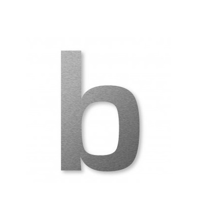 "numer domu BIG NUMBER ""b"" 8 cm"